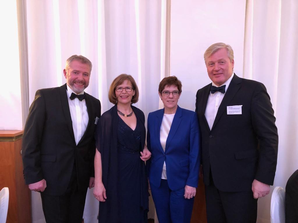Zu Gast beim Herrenabend des Wirtschaftsvereins für den Hamburger Süden